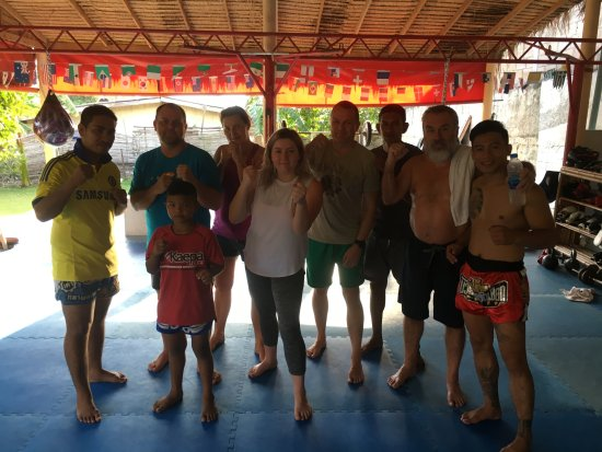 Palapon: Muay Thai team september 2017