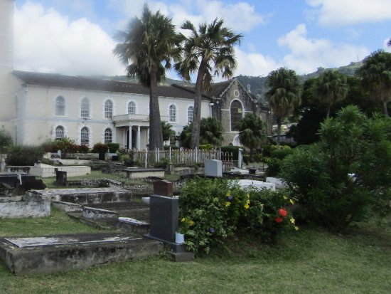 Kingstown, St. Vincent: Slightly blurred, it was raining