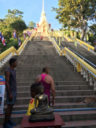 Palapon: Walking the stairs 6 am every morning.