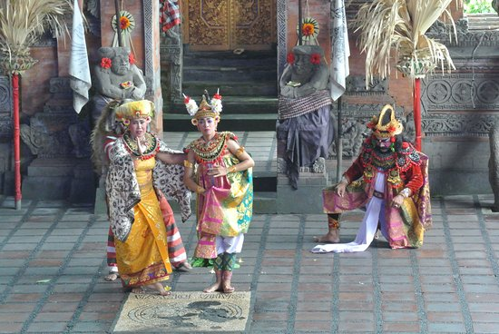 Candidasa, อินโดนีเซีย: Balinesischer Tanz