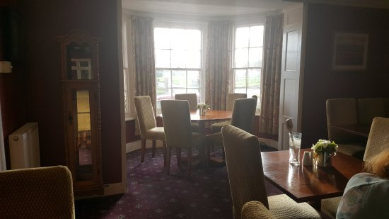 The Lion Hotel: Dining room