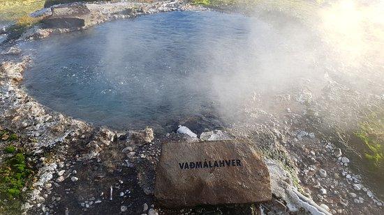 Fludir, ไอซ์แลนด์: sur le chemin autour du Secret Lagoon