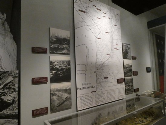 Jackson, หลุยเซียน่า: Museum display