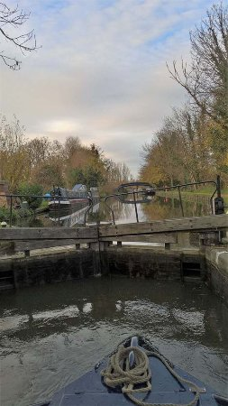 Hemel Hempstead, UK: One of the locks we encountered.