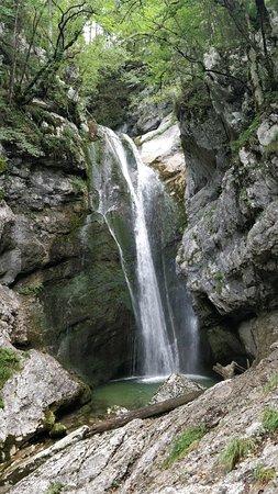 Srednja vas v Bohinju, Slovenia: Mostnica Gorge