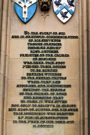 Martyrs' Memorial: the incriminating epitaph
