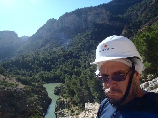 El Chorro, España: overlooking water
