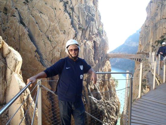 El Chorro, Spanyol: towards the end of the path