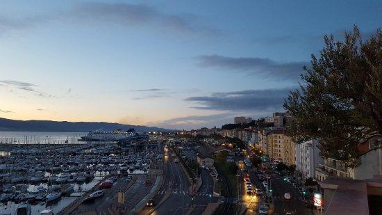 Mercure Ajaccio : Vue de la terrasse