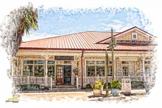The Villages, FL: GarVino's Entrance