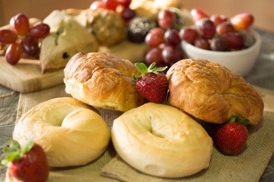 Portsmouth, VA: New York Bagels & Butter Croissants Baked fresh Daily