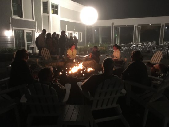 Cape Neddick, ME: Private party at the Firepit Terrace