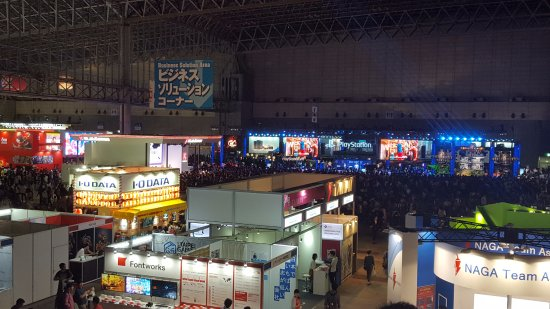 Chiba, Japonia: Just so you get an idea of how large this is. And this is only one section.