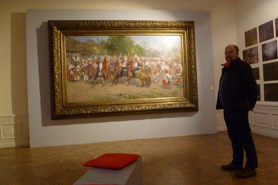 Μπρνο, Τσεχική Δημοκρατία: Lots of energy in the picture painted by Joza Uprka