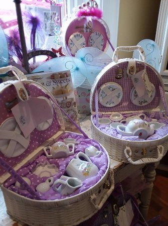 Carlisle, PA: Still in, our lovely mini-china tea sets, perfect for the little tea-lovers in your nest.