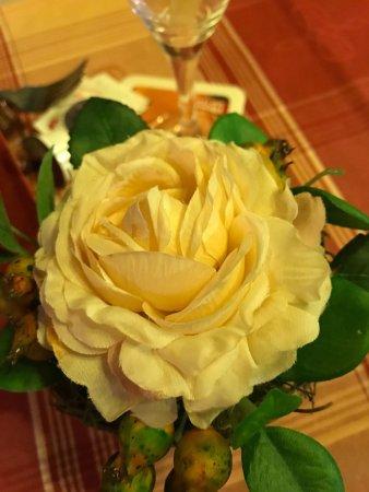 Bad Rothenfelde, Tyskland: Künstliche Blumen