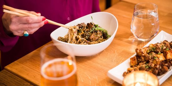 tan tan noodles - Picture of Sai Woo, Vancouver - TripAdvisor
