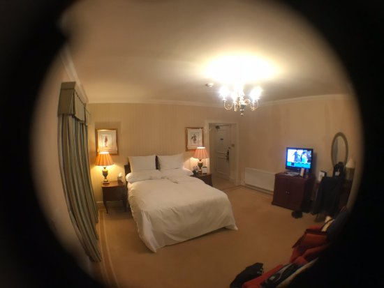 Turnberry, UK: lodge room