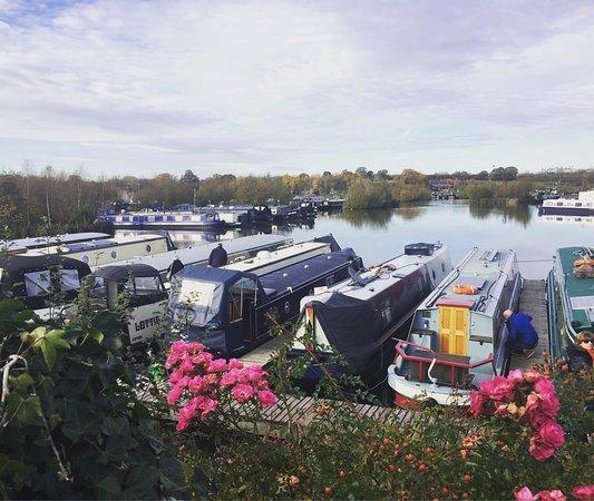 Willington, UK: Pleasant views