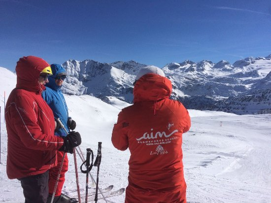 Les Arcs, França: Expert instruction from Aim snowsports!