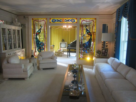 Graceland: the living room