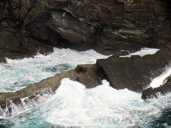 Portmagee, İrlanda: Jagged rocks