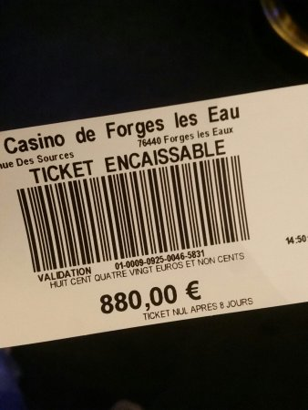 grand casino forges les eaux