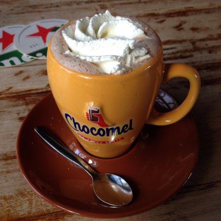 Baambrugge, Nederland: chocolate milk