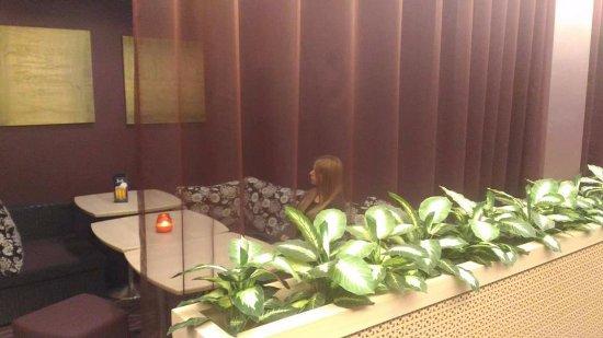 Tervis spa hotel: Кафе на 5-ом этаже