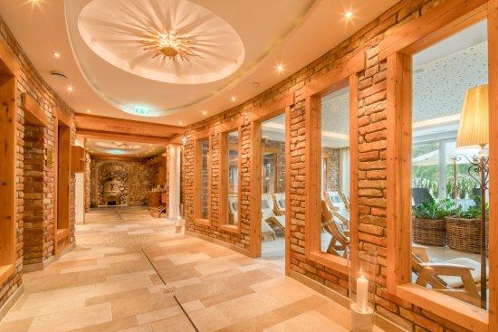 Hotel Edelweiss: Saunalandschaft