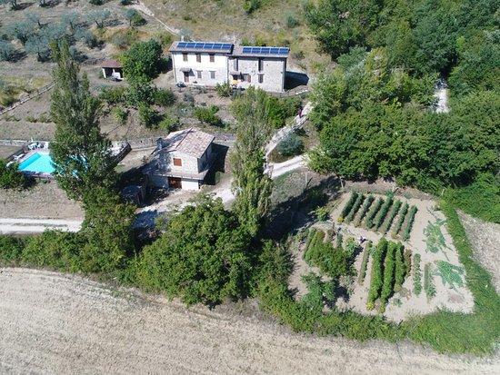 Castelbuono, Italia: Valle Tamantina vista dall'alto!