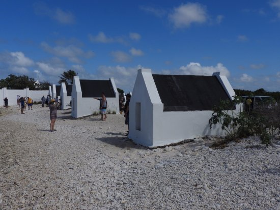 "Kralendijk, Bonaire: Tiny huts in which 7 people had to ""live"""