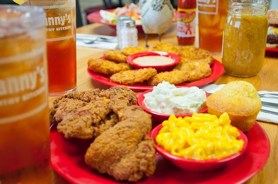 Hickory, NC: Quarter Fried Chicken & Fried Green Tomatoes
