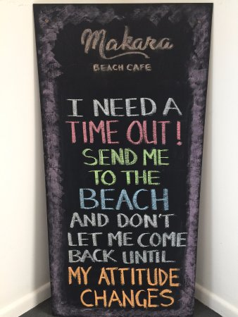 Weekly quote Picture of Makara Beach Cafe Wellington