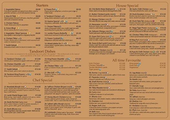 Cootehill, Irland: Jaiphal Restaurant & Bar