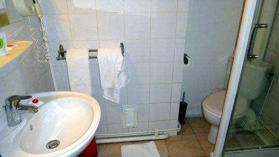 Villeneuve-les-Avignon, Frankrike: Banheiro