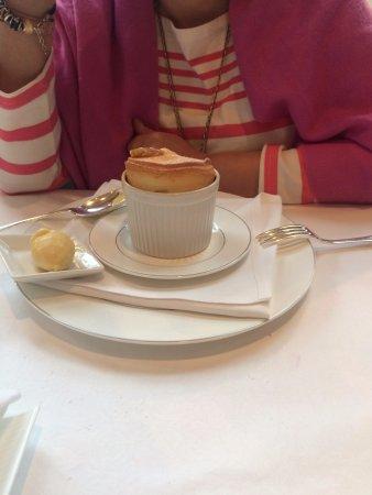 Wykeham, UK: Banana Souffle risen to perfection