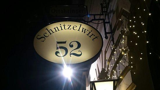 Schnitzelwirt: Eingang