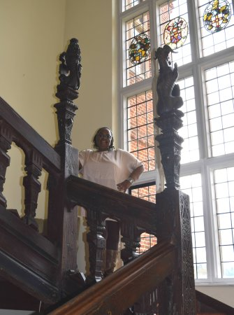 Barham, UK: The main staircase