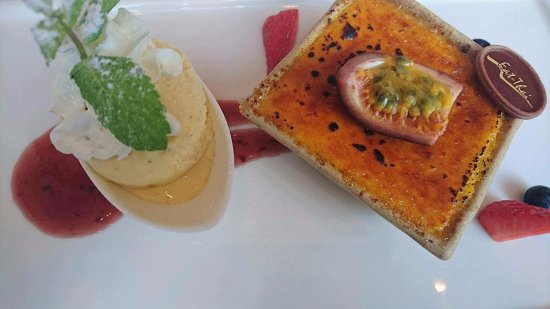 High Wycombe, UK: Passionfruit Creme Brulee