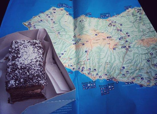 Сан-Висенте, Португалия: dulce de chocolate, unos de los tantos que me comí
