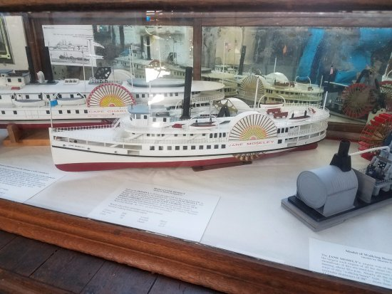 Cape Charles Museum & Welcome Center: Ferry models