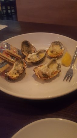 Smyrna, GA: Tiny Charboiled Oysters.