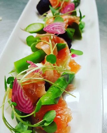 Delissi: Gin cured Salmon