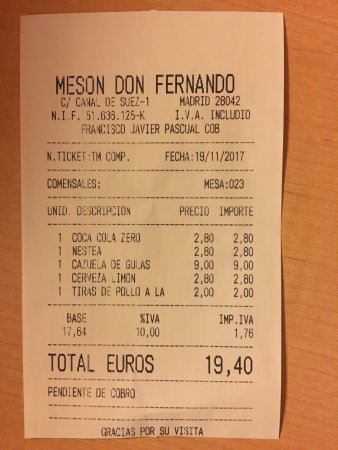 Meson Don Fernando: photo0.jpg