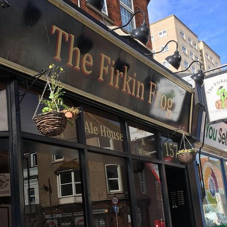 Herne Bay, UK: The Firkin Frog