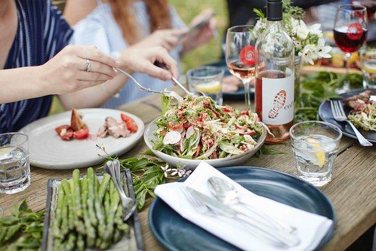 Wahgunyah, Australia: Long lunch