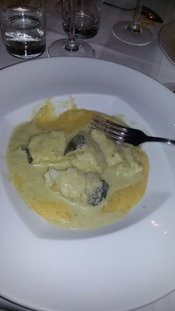 Montegrosso d'Asti, Italien: polenta e baccalà