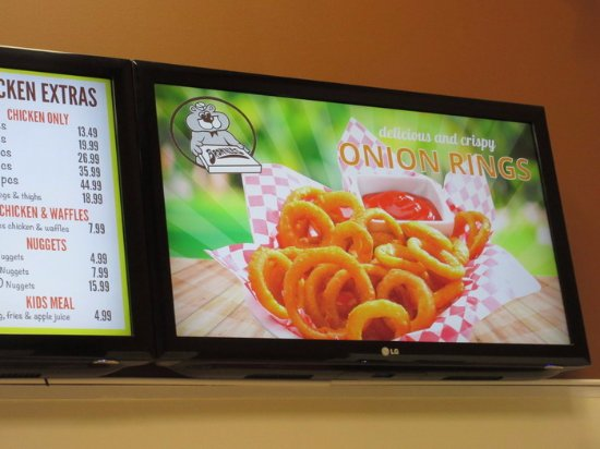 Maple Ridge, Kanada: Onion Rings decor