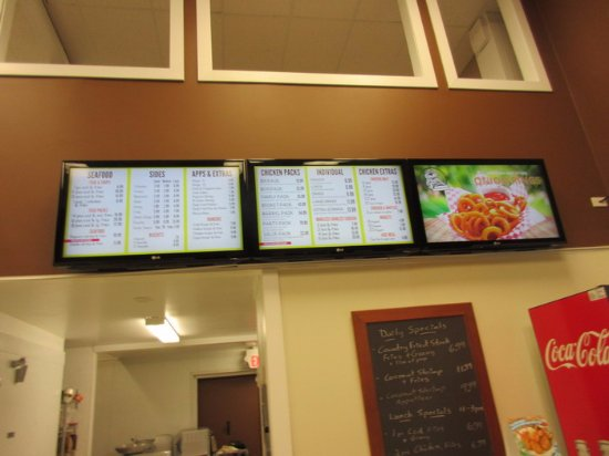Maple Ridge, Kanada: Menu